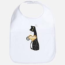 Whimsical Cat Bib