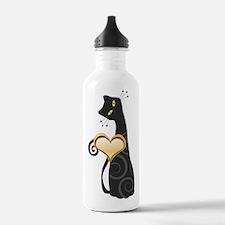 Whimsical Cat Water Bottle
