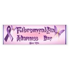 Fibromyalgia Awareness Day Bumper Sticker