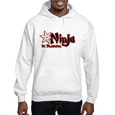 Ninja in Training Hoodie Sweatshirt