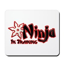 Ninja in Training Mousepad