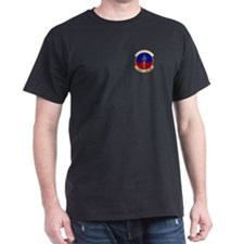 10th Security Police Black T-Shirt