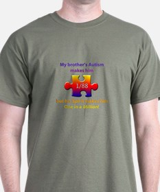1 in Million (Brother w Autism) T-Shirt