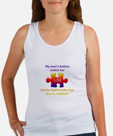 1 in Million (Aunt w Autism) Women's Tank