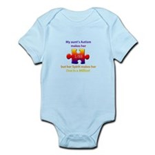 1 in Million (Aunt w Autism) Infant Bodysuit
