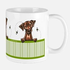 Bee Nice Chocolate Lab Lover Mug