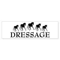 Dressage - Dancing Horses Bumper Bumper Sticker