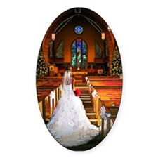 White Wedding Decal