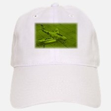 Green Jet Baseball Baseball Cap