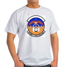 24th Security Police Ash Grey T-Shirt