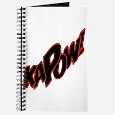 Sweet KAPOW! Journal