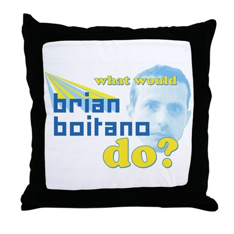 WWBBD?- Throw Pillow