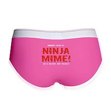 Ninja Mime Women's Boy Brief