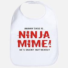 Ninja Mime Bib