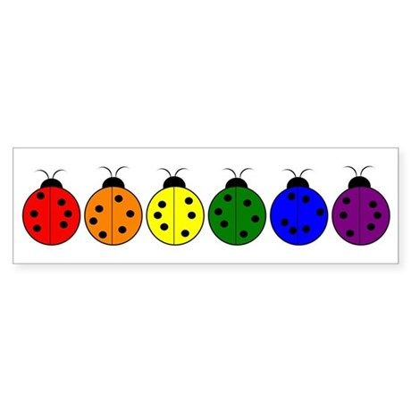 Pride Bugs Bumper Sticker