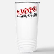 Warning Travel Mug