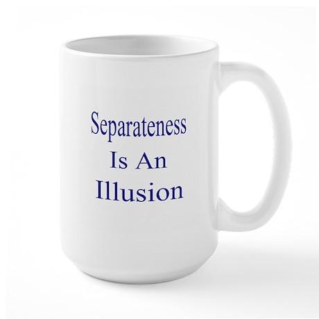 Separateness Large Mug