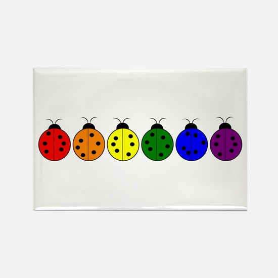 Pride Bugs Rectangle Magnet