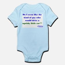 Squishy Little Car Infant Bodysuit