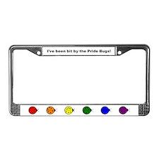 Pride Bugs License Plate Frame