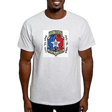 USS Texas CGN 39 Decomm Ash Grey T-Shirt