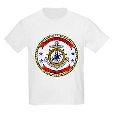 USS Mississippi CGN 40 Kids T-Shirt