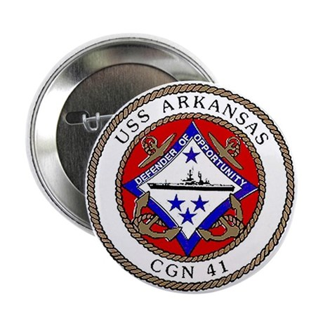 USS Arkansas CGN 41 Button