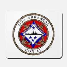 USS Arkansas CGN 41 Mousepad