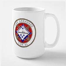 USS Arkansas CGN 41 Large Mug