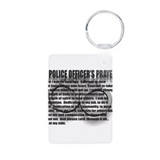 A POLICE OFFICER'S PRAYER Keychains