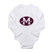 Long Sleeve Red Bud Infant Bodysuit