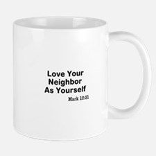 Jesus & Caring For Others Mug