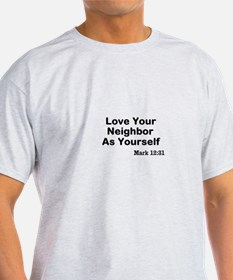 Jesus & Caring For Others T-Shirt
