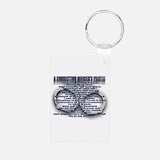 CORRECTION'S OFFICER PRAYER Keychains