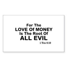 Love of Money Decal