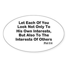 Interests Of Others Decal