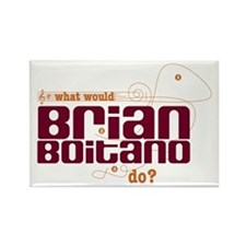 MusicNotes Boitano Rectangle Magnet