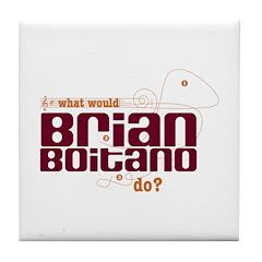 MusicNotes Boitano Tile Coaster