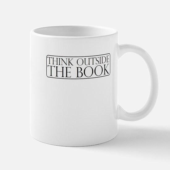 Think Outside The Book Mug