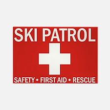 Cool Ski patrol Rectangle Magnet