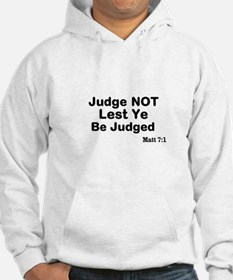 The Bible & Not Judging Hoodie