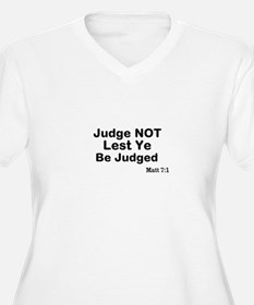 The Bible & Not Judging T-Shirt