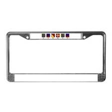 Funny Sailing flag License Plate Frame