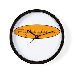 Fly Boitano Wall Clock