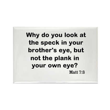 Brothers eye Rectangle Magnet (100 pack)