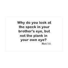 Brothers eye 38.5 x 24.5 Wall Peel