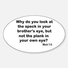 Brothers eye Sticker (Oval)