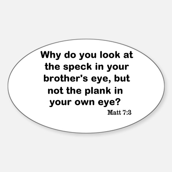 Brothers eye Sticker (Oval)