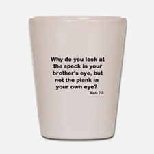 Brothers eye Shot Glass