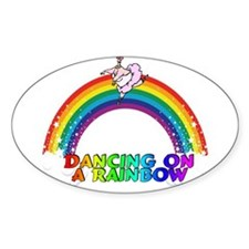 DANCING ON A RAINBOW Decal